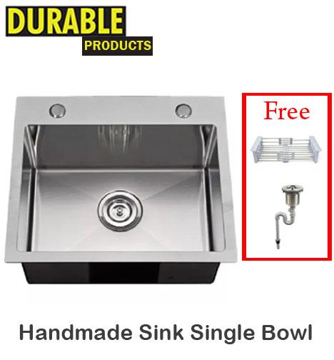 Handmade Sink Single Bowl Build Durable