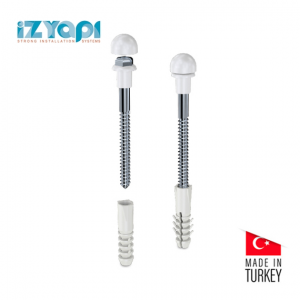 Izyapi Commode Bolt Kit With Cover