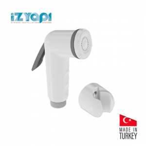 Izyapi Shut Off Rinsing Shower White Colour
