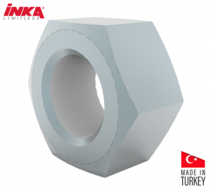 Inka Hex Nuts Size M10 (ZSS0010)