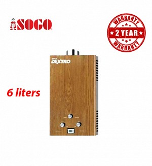 Sogo OAK Wood 6 Ltrs Water Heater / Geyser