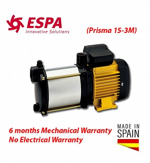 Espa Water Booster Pump 15-3M (Made In Spain) Multi-stage Pressure Pump