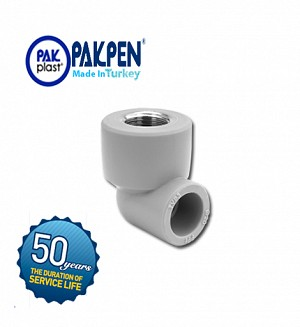 PPRC Female Threaded Elbow (PN-20) PAKPEN PAKPLAST