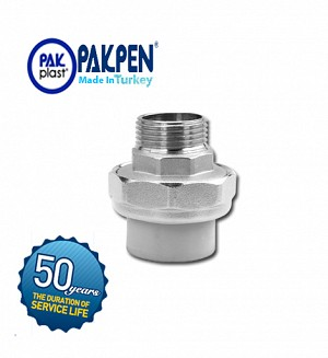 PPRC Male Threaded Union (PN-20) PAKPEN PAKPLAST