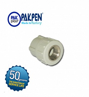 PPRC Female Threaded Adopter (PN-20) PAKPEN PAKPLAST