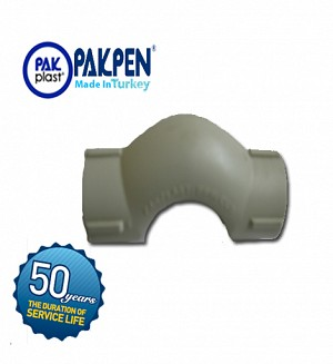 PPRC Bridge Bend 25 mm (Socketed) Small (PN-20) PAKPEN PAKPLAST