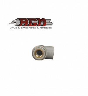 AGM Cpvc Brass Thread F/Elbow