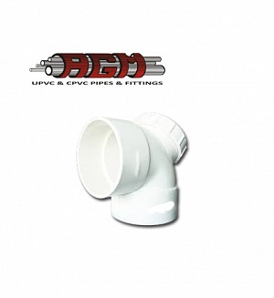 AGM Upvc Plug Elbow