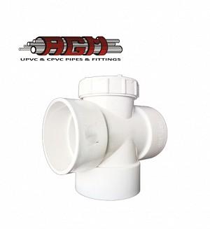 AGM Upvc Plug Tee