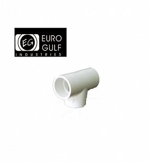 Euro Gulf Upvc Tee Fitting (ASTM D2466)
