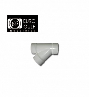 Euro Gulf Upvc Y Tee 45° Fitting (ASTM D2466)