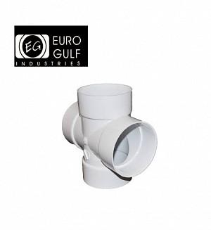 Euro Gulf Upvc Cross Tee Fitting (ASTM D2466)