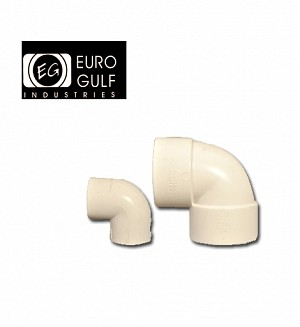 Euro Gulf Upvc Elbow 90° Fitting (ASTM D2466)