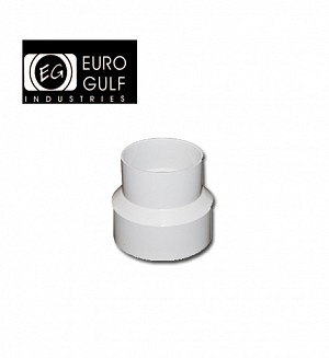 Euro Gulf Upvc Reducer Socket Fitting (ASTM D2466)