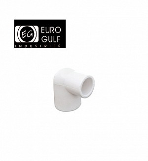 Euro Gulf Upvc Reducer Elbow Fitting (ASTM D2466)
