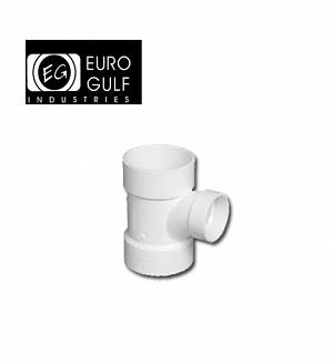 Euro Gulf Upvc Reducer Tee Fitting (ASTM D2466)
