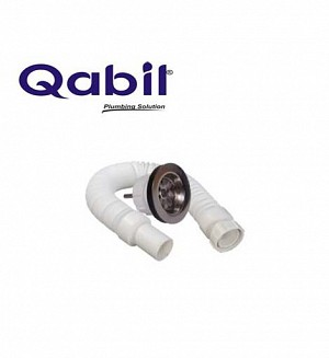 Qabil Basin Waste(PVC) With Pipe