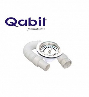 Qabil Sink Waste(PVC) With Pipe