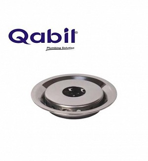 Qabil Floor Waste S.Steel Pipe Hole Code: QFW07