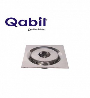 Qabil Floor Waste S.Steel Pipe Hole Code: QFW09