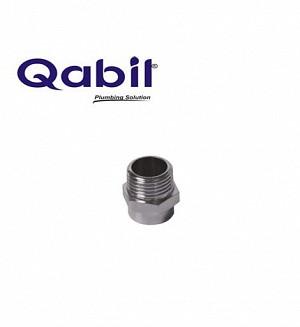 Qabil Joined CP Nipple (M x F) 1/2
