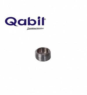 Qabil Joined CP Nipple (M x F) 3/8