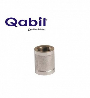Qabil CP Socket (Brass) 1/2