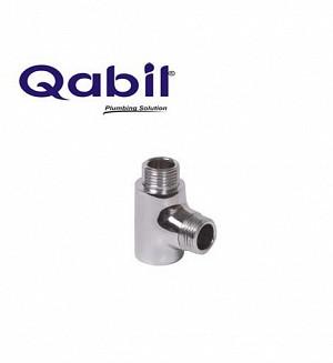 Qabil CP Tee M x F (Brass) 1/2