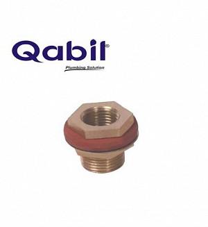 Qabil Tunkey Bush (Brass) F x M 1/2