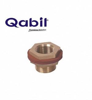 Qabil Tunkey Bush (Brass) F x M 3/4