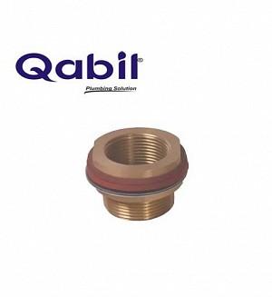 Qabil Tunkey Bush (Brass) F x M 1 1/4