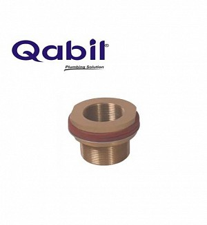 Qabil Tunkey Bush (Brass) F x M 1 1/2