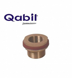 Qabil Tunkey Bush (Brass) 2 1/2