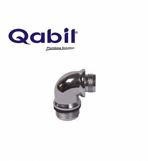 Qabil CP Filter Elbow Collar Type PVC Size: 1/2