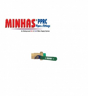 PPR-C Minhas Valve With Union Plastic To Metal