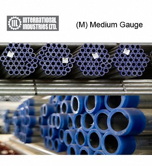 IIL GI (M) Medium Gauge Pipes (Gross Per Nali)