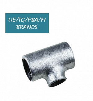 Galvanised Iron Reducer Tee (GI)