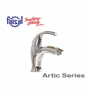 Fasial Artic Single Lever Basin Mixer