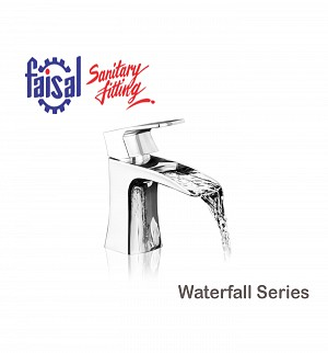Fasial Waterfall Single Lever Basin Mixer (Only Chrome)