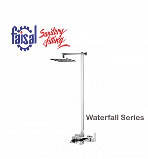 Fasial Waterfall Wall Shower / Hand Shower Type (Only Chrome)