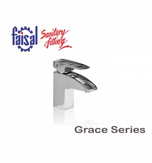 Fasial Grace Single Lever Basin Mixer (Only Chrome)