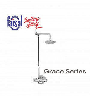 Fasial Grace Wall Shower / Hand Shower Type (Only Chrome)