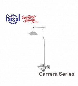 Fasial Carrera Wall Shower / Hand Shower Type (Only Chrome)