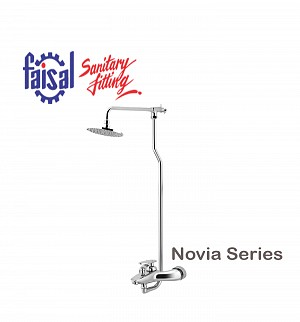 Fasial Novia Wall Shower / Hand Shower Type (Only Chrome)