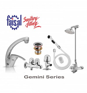 Faisal Gemini Series Bath Set