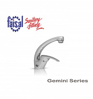 Fasial Gemini Single Lever Basin Mixer