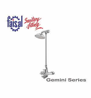 Fasial Gemini Wall Shower / Hand Shower Type