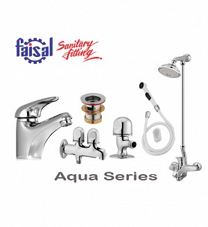 Faisal Aqua Series Bath Set