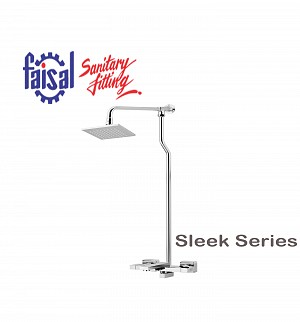 Fasial Sleek Wall Shower / Hand Shower Type (Only Chrome)