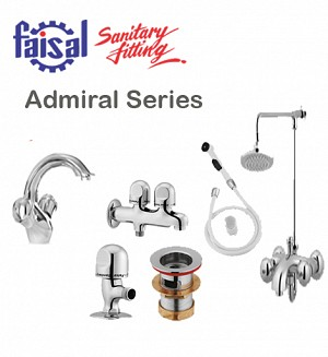 Faisal Admiral Series Bath Set